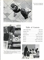 Page 7, 1964 Edition, Cedar Falls High School - Tiger Yearbook (Cedar Falls, IA) online yearbook collection