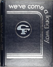 1983 Edition, Cedar Falls High School - Tiger Yearbook (Cedar Falls, IA)