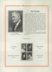 Page 12, 1929 Edition, Mason City High School - Masonian Yearbook (Mason City, IA) online yearbook collection