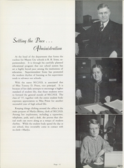 Page 14, 1937 Edition, Mason City High School - Masonian Yearbook (Mason City, IA) online yearbook collection