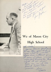 Page 9, 1955 Edition, Mason City High School - Masonian Yearbook (Mason City, IA) online yearbook collection