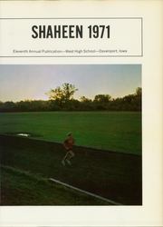 Page 5, 1971 Edition, West High School - Shaheen Yearbook (Davenport, IA) online yearbook collection