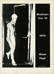 Page 5, 1972 Edition, West High School - Shaheen Yearbook (Davenport, IA) online yearbook collection