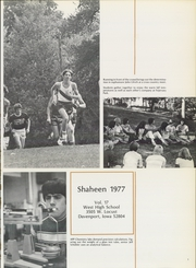 Page 5, 1977 Edition, West High School - Shaheen Yearbook (Davenport, IA) online yearbook collection