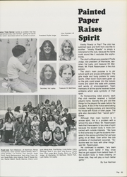 Page 69, 1979 Edition, West High School - Shaheen Yearbook (Davenport, IA) online yearbook collection