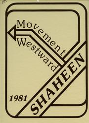 West High School - Shaheen Yearbook (Davenport, IA) online yearbook collection, 1981 Edition, Page 1