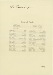Page 10, 1927 Edition, Roosevelt High School - Roundup Yearbook (Des Moines, IA) online yearbook collection