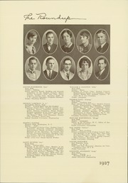 Page 16, 1927 Edition, Roosevelt High School - Roundup Yearbook (Des Moines, IA) online yearbook collection