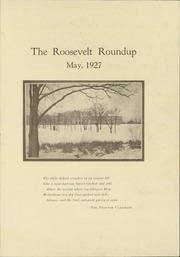 Page 3, 1927 Edition, Roosevelt High School - Roundup Yearbook (Des Moines, IA) online yearbook collection