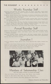 Page 74, 1933 Edition, Roosevelt High School - Roundup Yearbook (Des Moines, IA) online yearbook collection