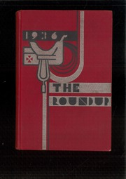 Page 1, 1936 Edition, Roosevelt High School - Roundup Yearbook (Des Moines, IA) online yearbook collection