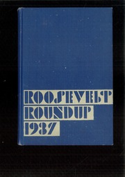 Page 1, 1937 Edition, Roosevelt High School - Roundup Yearbook (Des Moines, IA) online yearbook collection