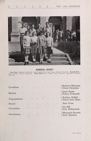 Page 7, 1944 Edition, Roosevelt High School - Roundup Yearbook (Des Moines, IA) online yearbook collection