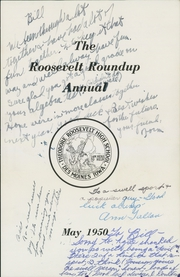 Page 5, 1950 Edition, Roosevelt High School - Roundup Yearbook (Des Moines, IA) online yearbook collection