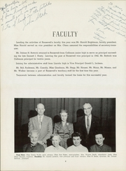 Page 10, 1955 Edition, Roosevelt High School - Roundup Yearbook (Des Moines, IA) online yearbook collection