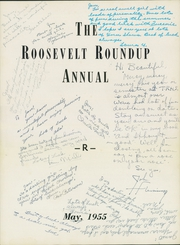 Page 5, 1955 Edition, Roosevelt High School - Roundup Yearbook (Des Moines, IA) online yearbook collection