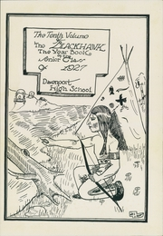 Page 3, 1927 Edition, Central High School - Blackhawk Yearbook (Davenport, IA) online yearbook collection
