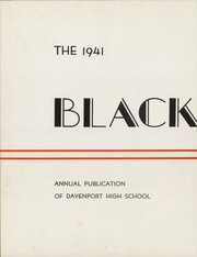 Page 6, 1941 Edition, Central High School - Blackhawk Yearbook (Davenport, IA) online yearbook collection