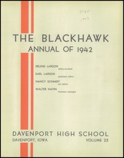 Page 5, 1942 Edition, Central High School - Blackhawk Yearbook (Davenport, IA) online yearbook collection