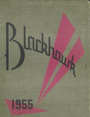 1955 Edition, Central High School - Blackhawk Yearbook (Davenport, IA)