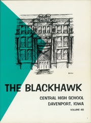 Page 3, 1965 Edition, Central High School - Blackhawk Yearbook (Davenport, IA) online yearbook collection