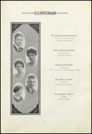 Page 17, 1921 Edition, Clinton High School - Clintonian Yearbook (Clinton, IA) online yearbook collection