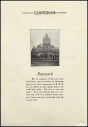 Page 6, 1921 Edition, Clinton High School - Clintonian Yearbook (Clinton, IA) online yearbook collection