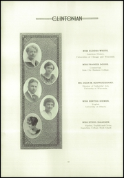 Page 14, 1922 Edition, Clinton High School - Clintonian Yearbook (Clinton, IA) online yearbook collection
