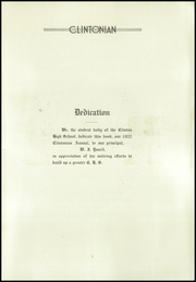 Page 5, 1922 Edition, Clinton High School - Clintonian Yearbook (Clinton, IA) online yearbook collection