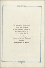 Page 9, 1923 Edition, Clinton High School - Clintonian Yearbook (Clinton, IA) online yearbook collection