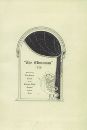 Page 5, 1926 Edition, Clinton High School - Clintonian Yearbook (Clinton, IA) online yearbook collection