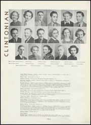 Page 10, 1937 Edition, Clinton High School - Clintonian Yearbook (Clinton, IA) online yearbook collection