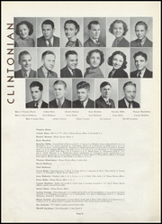 Page 12, 1937 Edition, Clinton High School - Clintonian Yearbook (Clinton, IA) online yearbook collection