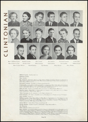 Page 14, 1937 Edition, Clinton High School - Clintonian Yearbook (Clinton, IA) online yearbook collection