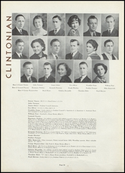 Page 16, 1937 Edition, Clinton High School - Clintonian Yearbook (Clinton, IA) online yearbook collection