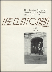 Page 5, 1937 Edition, Clinton High School - Clintonian Yearbook (Clinton, IA) online yearbook collection