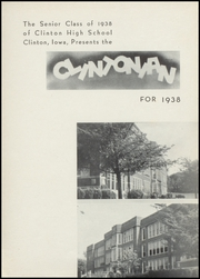 Page 5, 1938 Edition, Clinton High School - Clintonian Yearbook (Clinton, IA) online yearbook collection