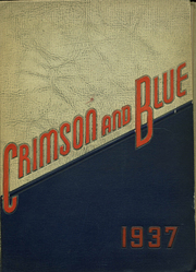 1937 Edition, Abraham Lincoln High School - Crimson and Blue Yearbook (Council Bluffs, IA)