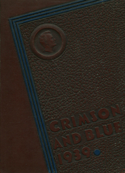 1939 Edition, Abraham Lincoln High School - Crimson and Blue Yearbook (Council Bluffs, IA)