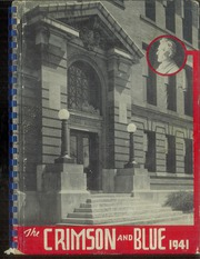 1941 Edition, Abraham Lincoln High School - Crimson and Blue Yearbook (Council Bluffs, IA)