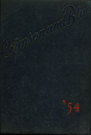 1954 Edition, Abraham Lincoln High School - Crimson and Blue Yearbook (Council Bluffs, IA)