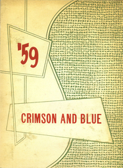 1959 Edition, Abraham Lincoln High School - Crimson and Blue Yearbook (Council Bluffs, IA)