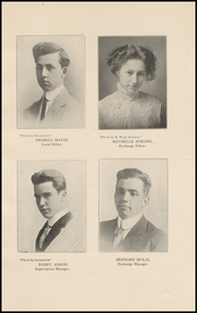 Page 13, 1911 Edition, Muscatine High School - Auroran Yearbook (Muscatine, IA) online yearbook collection