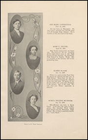 Page 17, 1911 Edition, Muscatine High School - Auroran Yearbook (Muscatine, IA) online yearbook collection
