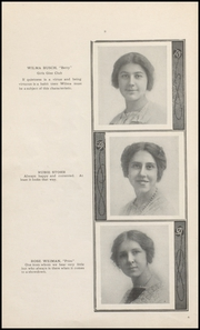 Page 10, 1914 Edition, Muscatine High School - Auroran Yearbook (Muscatine, IA) online yearbook collection