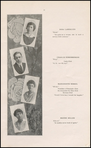 Page 13, 1915 Edition, Muscatine High School - Auroran Yearbook (Muscatine, IA) online yearbook collection