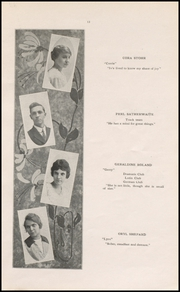 Page 15, 1915 Edition, Muscatine High School - Auroran Yearbook (Muscatine, IA) online yearbook collection