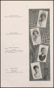 Page 16, 1915 Edition, Muscatine High School - Auroran Yearbook (Muscatine, IA) online yearbook collection
