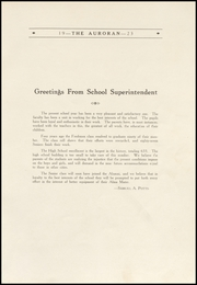 Page 13, 1923 Edition, Muscatine High School - Auroran Yearbook (Muscatine, IA) online yearbook collection