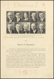 Page 15, 1930 Edition, Muscatine High School - Auroran Yearbook (Muscatine, IA) online yearbook collection